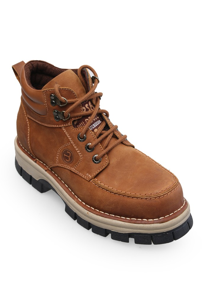 harga Sepatu semi-boots kulit asli / borsa - stalwart Tokopedia.com