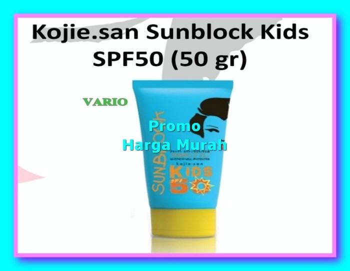 Harga Hemat Kojie san Sunblock tabir surya 50 gr anak Kids SPF50 Or Mu