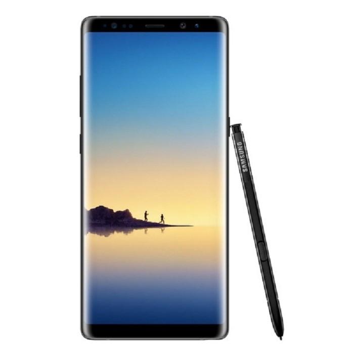 Samsung galaxy note 8 64gb midnight black garansi resmi