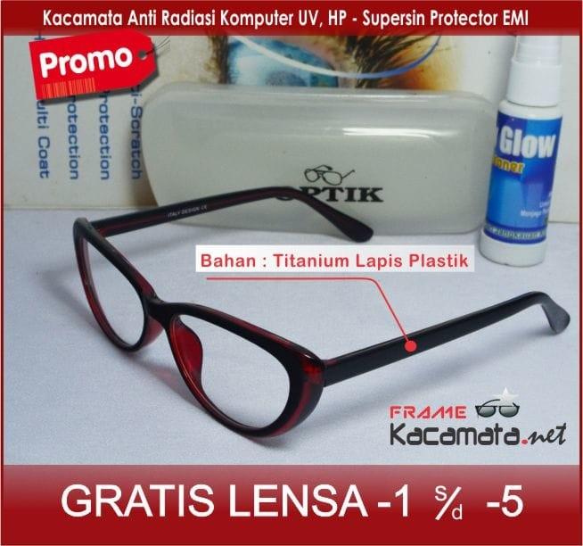 Jual Frame Kacamata Minus Cat Eye Wanita Cewek Fashion Murah Terbaru ... 834144f487