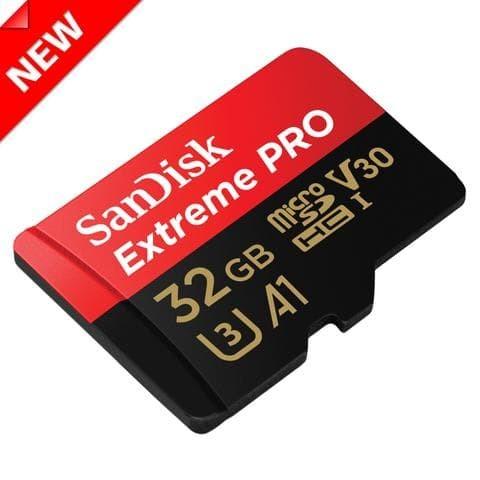 harga Sandisk extreme pro microsd  32gb c10 u3 v30 (up to 95/90mb/s) Tokopedia.com
