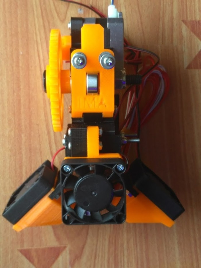 harga 3d printer geared extruder set ima2020 prusa i3 compatible tanpa motor Tokopedia.com