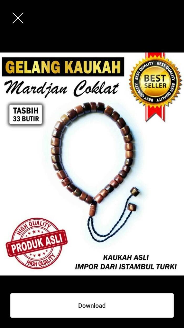 Jual Tasbih Gelang Original Koka Kokka Kaukah Kauka Kaoka Asli Warna Hitam Harga Model Mardjan Coklat Tokopedia