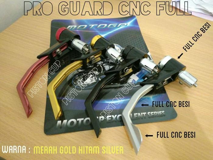 Pro guard full cnc motogp / hand guard cnc / proguard / bandul… Motor : Aksesoris ...