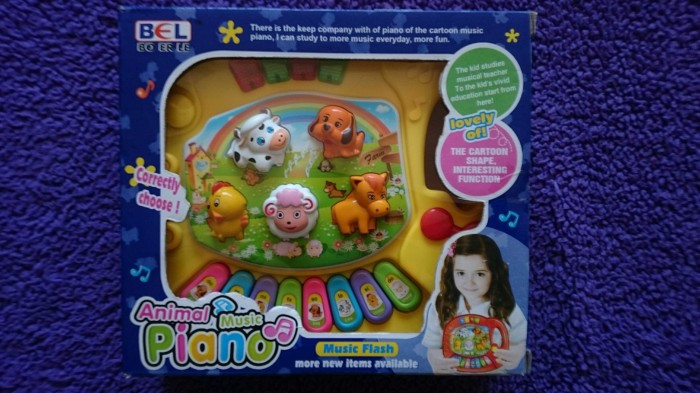harga Animal music piano - mainan piano anak - mainan edukasi bayi - kado Tokopedia.com