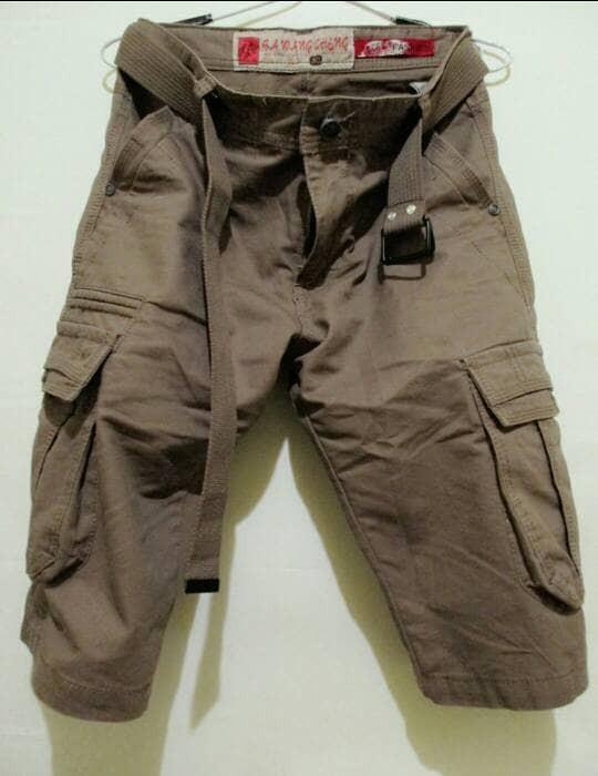 harga Celana pdl cargo + sabuk - barang import - celana pendek Tokopedia.com