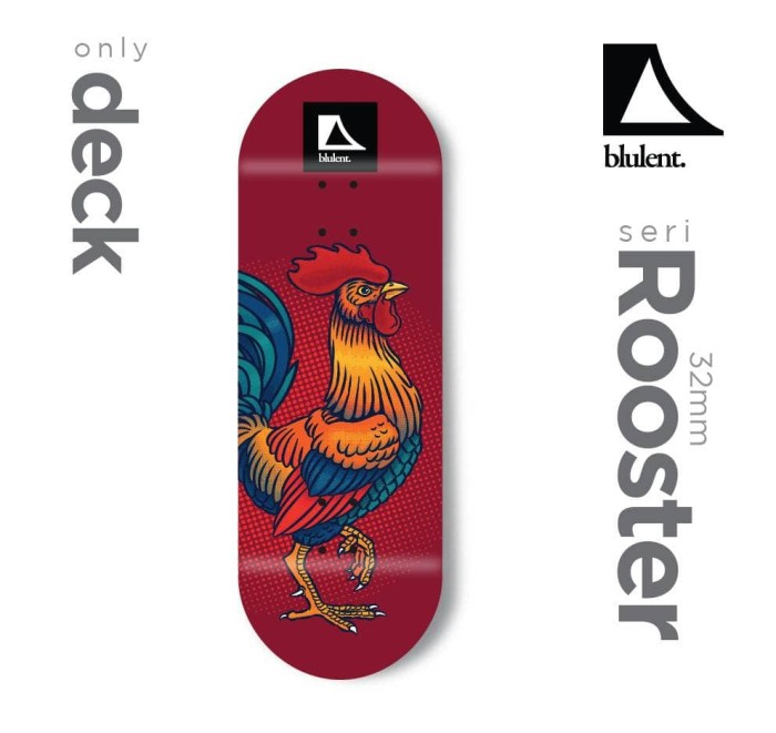 harga Deck blulent fingerboard 32mm Tokopedia.com