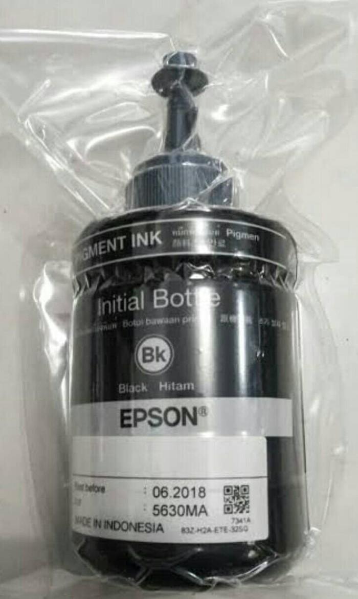 Jual Ori Epson Black Cek Harga Di Tinta T6641 M100 M200 Warna Botol Besarloosepack Original