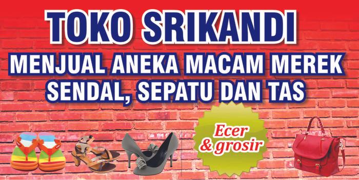 35+ Latest Spanduk Toko Sepatu