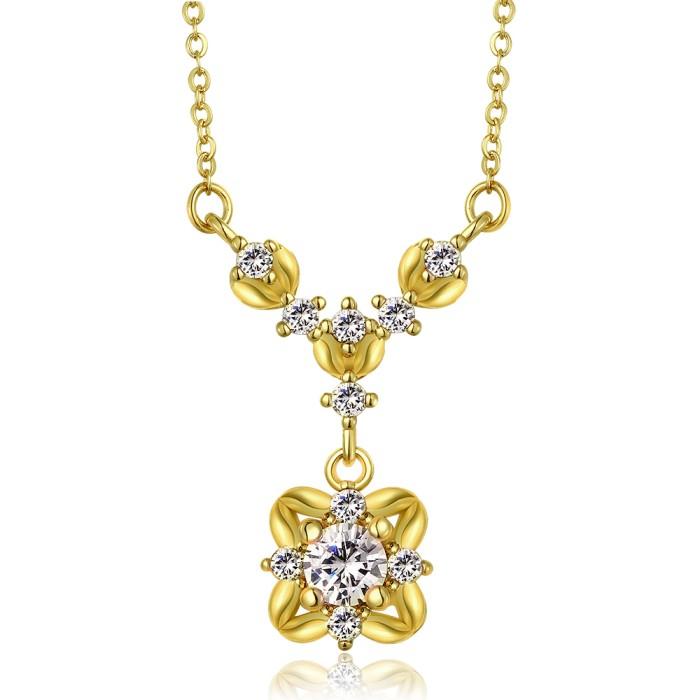 Tiaria Chain Necklace Lknspcc014 18 L Gratis Gelang L Aksesoris Source · Tiaria necklace lkn18krgpn850 a