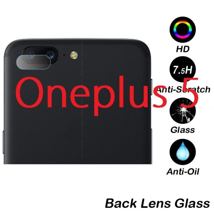 Foto Produk Oneplus 5 Camera Lens Transparent Clear Tempered Glass dari Bro Papao