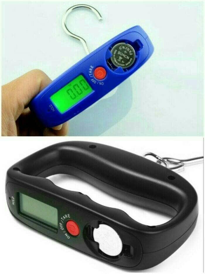 harga Timbangan digital genggam / portable digital luggage scale wh a14 50kg Tokopedia.com