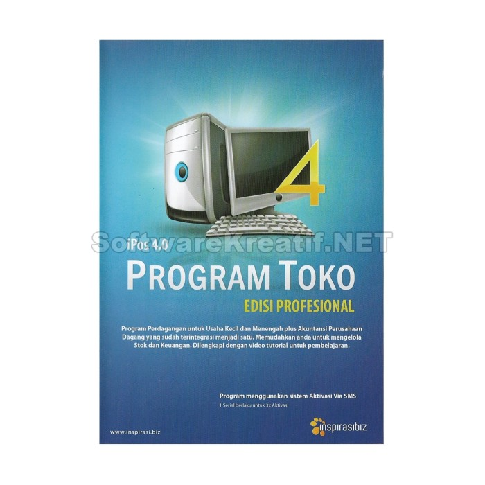 Software Program Toko Ipos 4 Profesional - Blanja.com