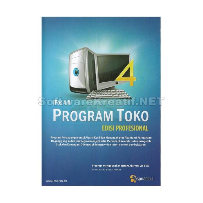 Software Program Toko Ipos 4 Profesional - Blanja.com