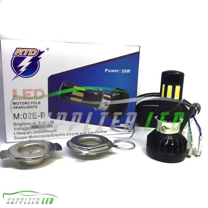 harga Lampu utama led motor mobil 6 sisi rtd m02e-b Tokopedia.com