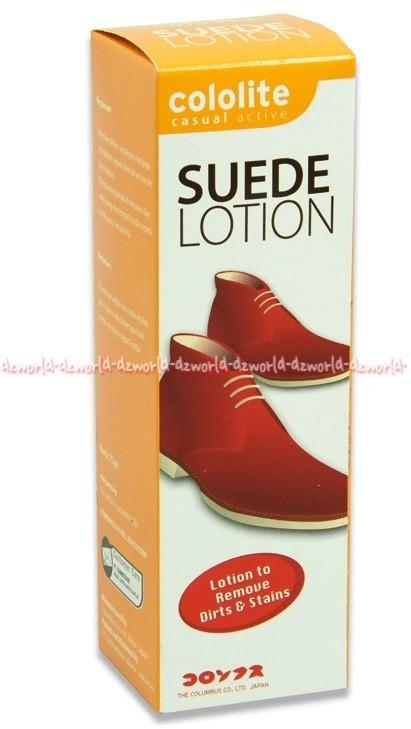 harga Cololite suede lotion cairan pembersih sepatu bahan kain bludru nubuck Tokopedia.com