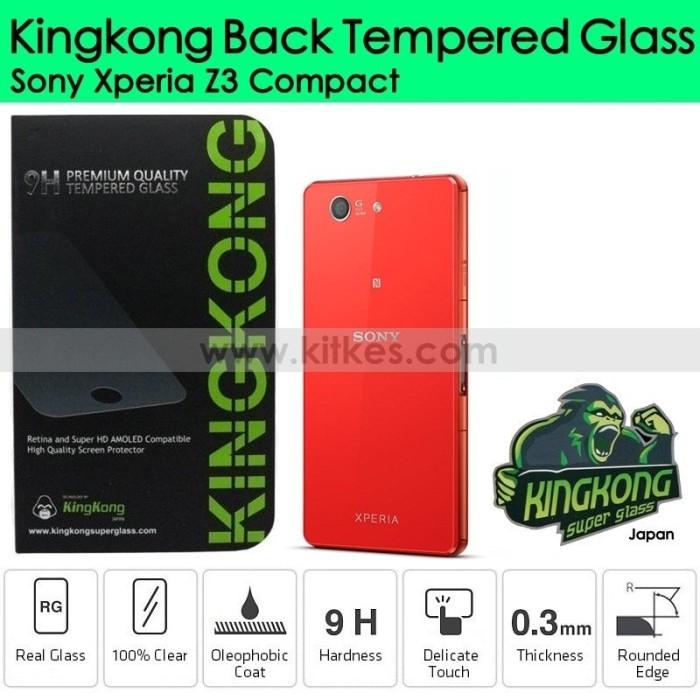 Jual Kingkong Back Tempered Glass Sony Xperia Z3 Compact - Kitkes | Tokopedia