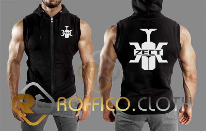 harga Rompi vest zipper kamen rider kabuto - roffico cloth Tokopedia.com