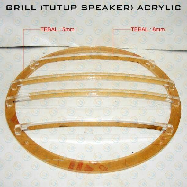 harga Grill tutup speaker acrylic 12inch Tokopedia.com