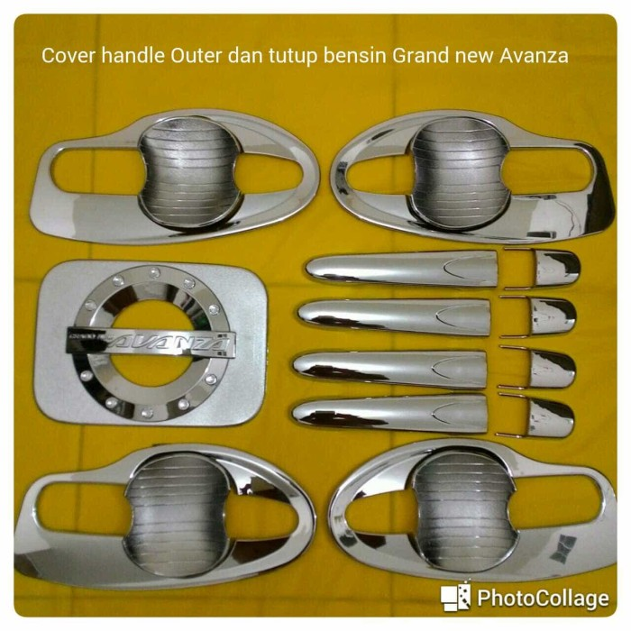 Foto Produk Cover handle Outer dan tutup bensin Grand new Avanza dari Adro shop