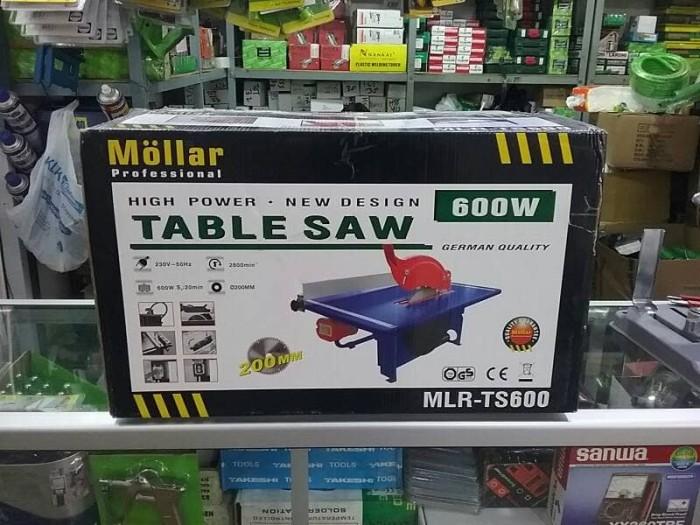 harga Table saw mollar / mesin potong kayu meja 8  mollar ts600 Tokopedia.com