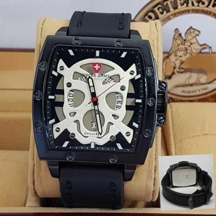 Swiss army sa4124 black silver