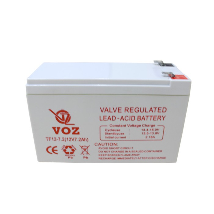Lead Acid Battery >> Jual Voz Tf12 7 2 12v 7 2ah Vrla Aki Accu Kering Lead Acid Battery Kab Tangerang Chrjhon Kaskus Tokopedia