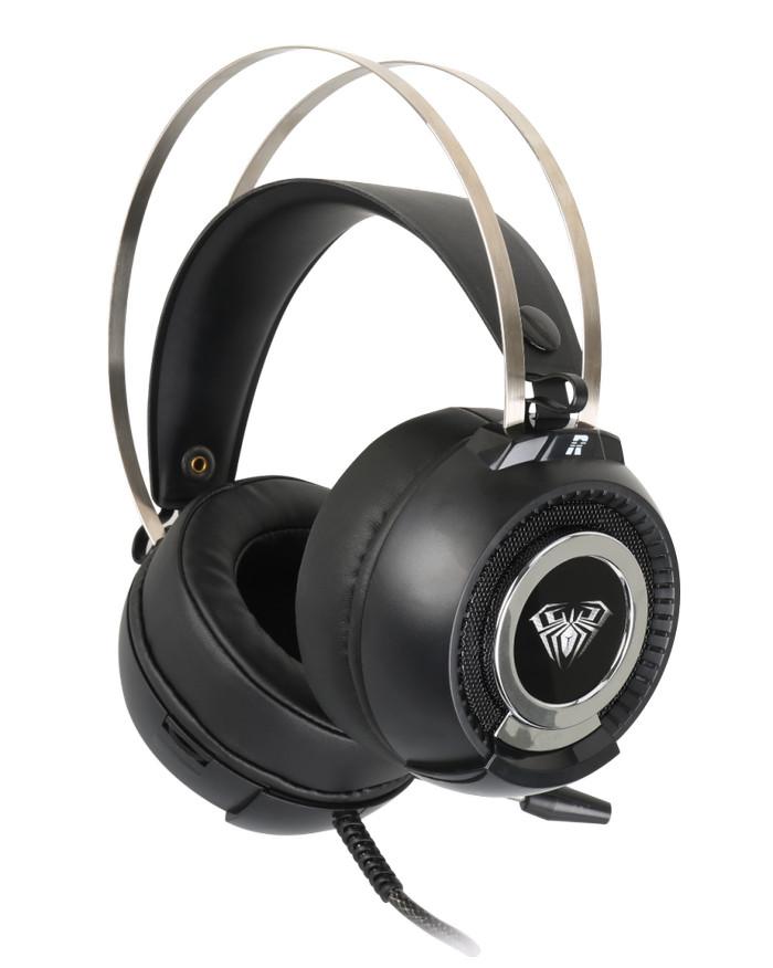 harga Headset gaming aula hs 623v motin bell - wired gaming headphone Tokopedia.com