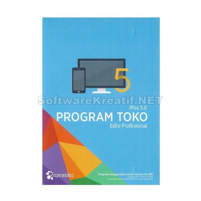 Software Program Toko Ipos 5 Edisi Profesional Untuk UKM (Original) - Blanja.com