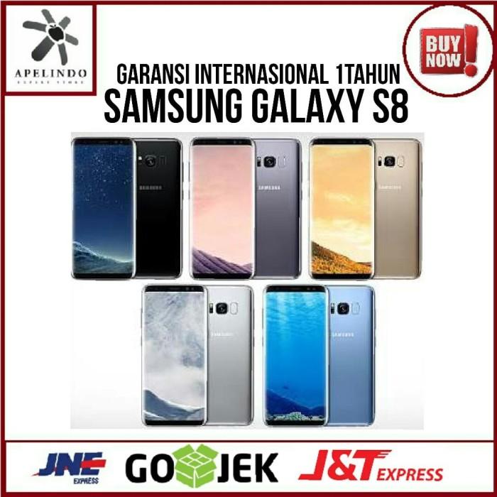 Samsung Galaxy S8 64gb - Garansi Internasional 1 Tahun