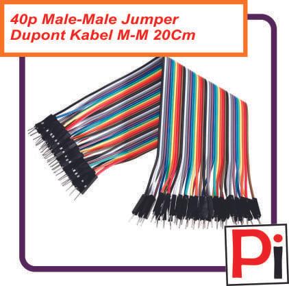 harga 40p kabel jumper pelangi dupont wire male to male 40 pcs 20 cm Tokopedia.com