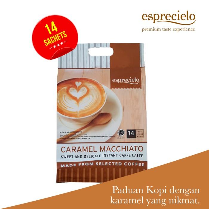 harga Esprecielo caramel macchiato eco bag - 14 sachet @ 24 gram Tokopedia.com