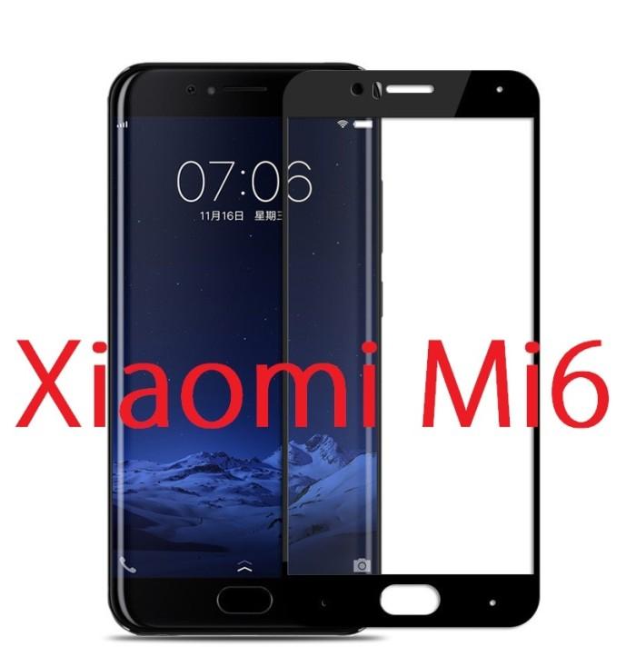 Foto Produk Xiaomi Mi6 Mi 6 - 2.5D Full Cover Premium Tempered Glass dari Bro Papao