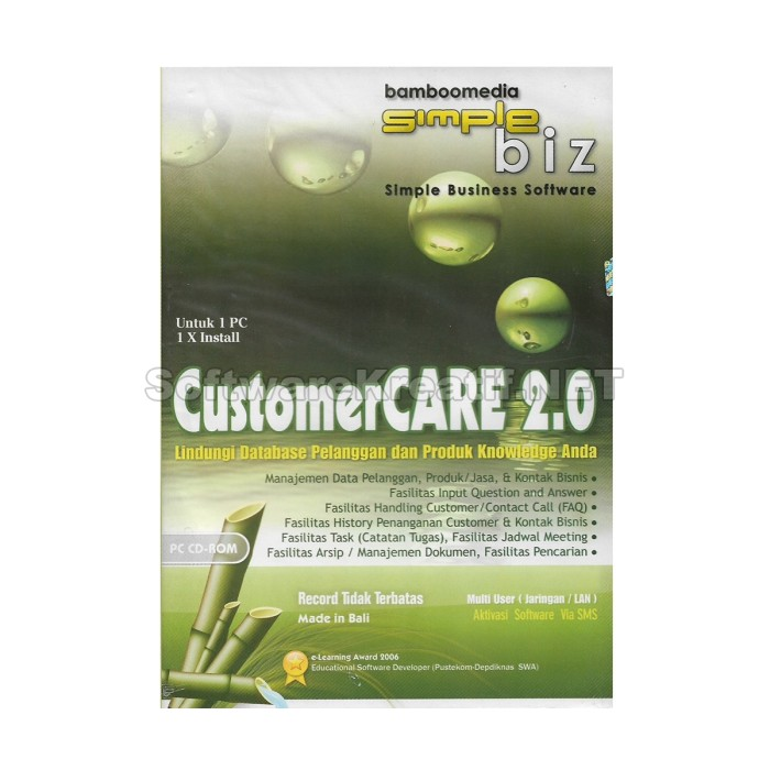 Program Customer Care 2.0 - Software Manajemen Database Pelanggan - Blanja.com
