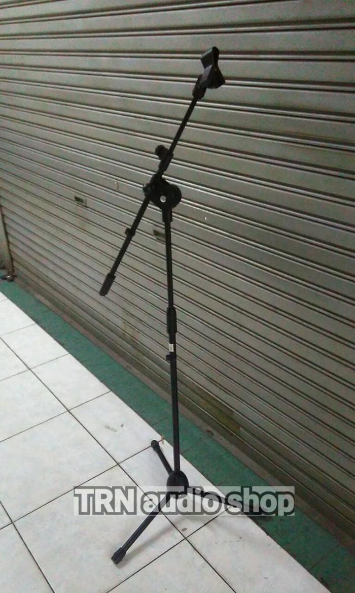 harga Stand mic lantai boom standing microphone Tokopedia.com