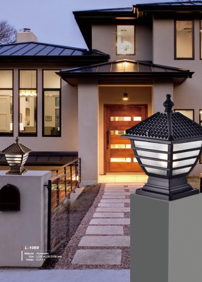 Jual L 1069 Lampu Pilar E27