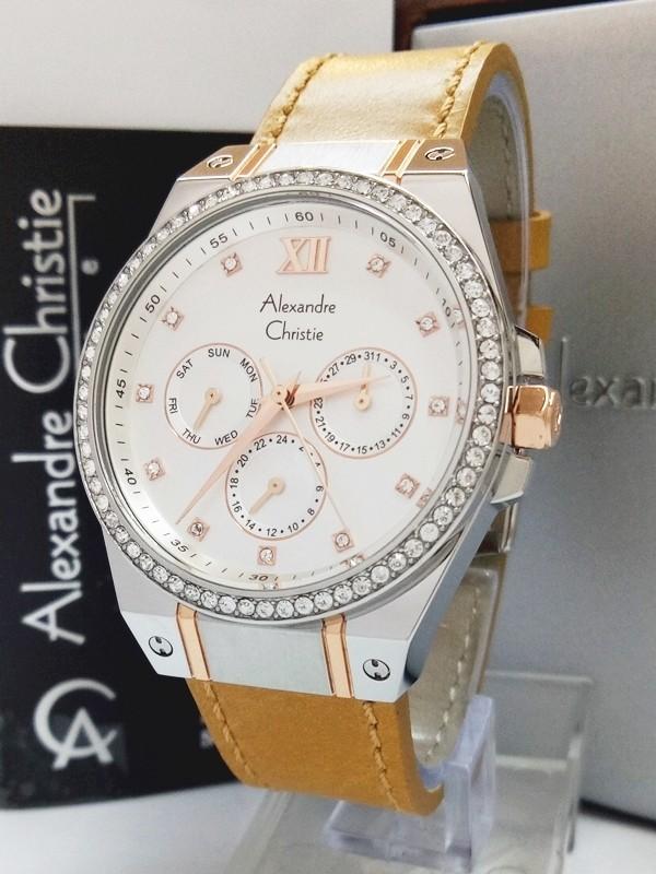 Jam tangan wanita passion alexandre christie ac 2662 bf lbwsvrg