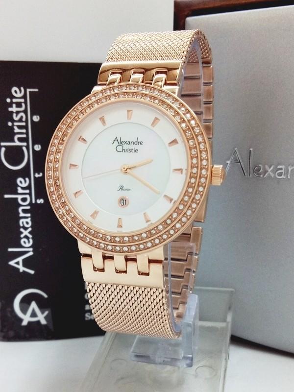 Jam tangan wanita passion alexandre christie ac 2651 ld frg