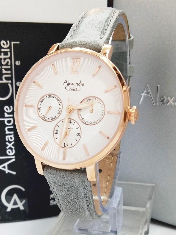 Jam tangan wanita passion alexandre christie ac 2673 bf gyrg