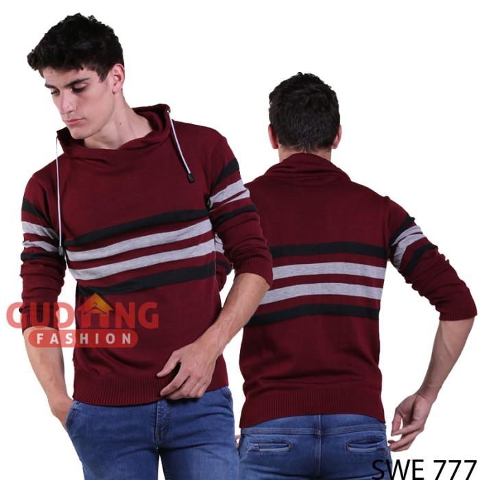 harga Sweater casual pria swe 777 Tokopedia.com