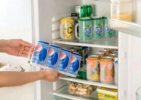 harga Can organizer drink rack refrigerator beer-rak minuman kaleng kulkas Tokopedia.com