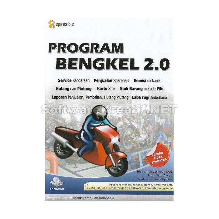 Program Bengkel 2.0 - Software Service Kendaraan Dan Penjualan Sparepart - Blanja.com
