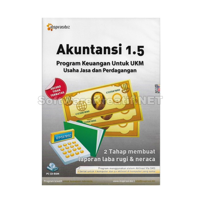 Software Program Akuntansi 1.5 - Blanja.com