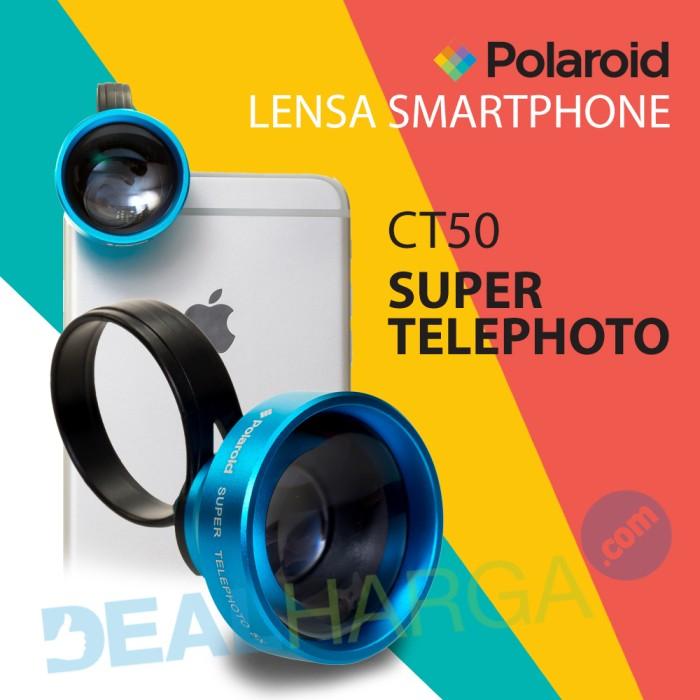 harga Lensa kamera hp super telephoto polaroid ct50 lens - biru Tokopedia.com