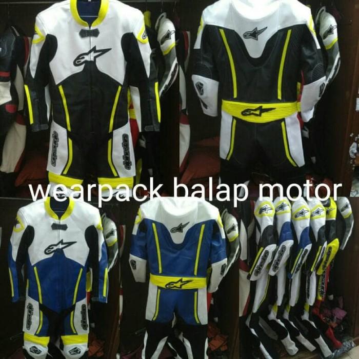 harga Wearpack Balap Motor Satu Set Lengkap Tokopedia.com
