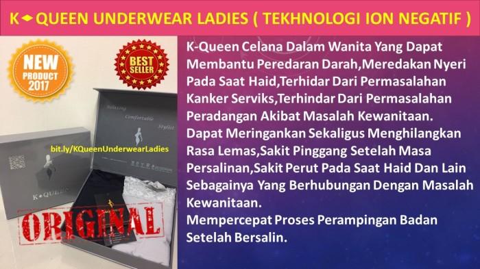 Jual K-QUEEN Celana Dalam Terapi Wanita - herbal alami k-link ... a4e7737a28