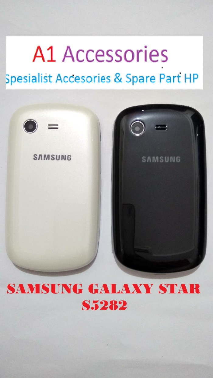 harga Casing cashing fullset housing samsung s5282 /samsung galaxy star Tokopedia.com