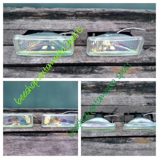Lampu kabut / foglamp / lampu sorot / tembak halogen kotak