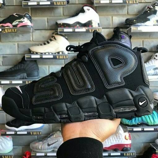 Jual Sepatu Supreme X Nike Air More