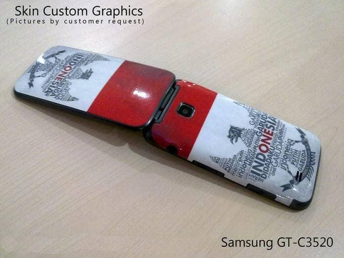 harga Skin protector for samsung gt-c3520 - 3m custom design Tokopedia.com